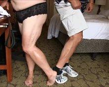 BBW Muscular Legs