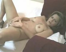 Busty MILF Squirts