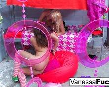 Vanessa and Natasha Lesbian Jail