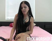 I am going to make you deepthroat this big cock JOI