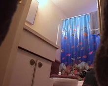 Hidden cam in the bathroom II