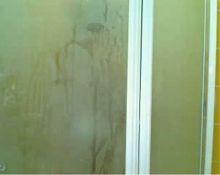 shower show in hotel