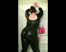 Big Ass Wet Spandex 9