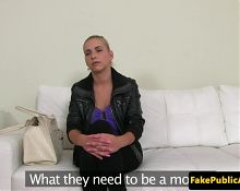 Auditioning bigtitted amateur dickrides agent