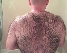 Very Hairy daddy shower