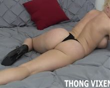 Do you like the sexy new thong I just got JOI