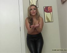 I will make sure you swallow every drop of cum CEI