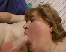 granny hungry for young cock