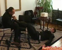Attractive butler Ridgeway gets his kinky punishment