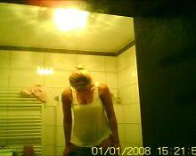 Girlfriend in Bathroom Reupload