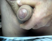 68yrold Grandpa &26 mature penis close uncut wank