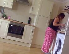 Chav Milf Teasing And Talking In PJs Candid