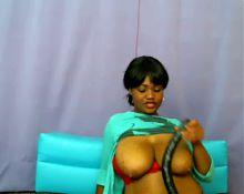Ebony busty webcam: Chocolate Baby