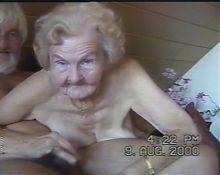 Granny's blowjob