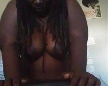 Ebony Goddess Ride Sybian