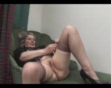 Granny plays alone
