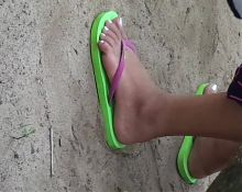 Philippine beach feet 3