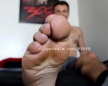 Foot Fetish - Chris Feet Part16 Video2
