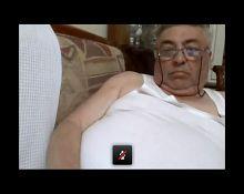 grandpa show big balls